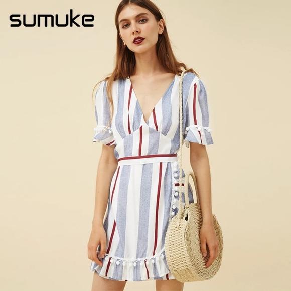 Sumuke Dresses & Skirts - Brand new striped dress